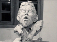Sculpting Tom Waits