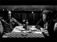 Tom and Iggy Pop from 'Coffee and Cigarettes'