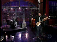 """Lie To Me"" Live on Letterman"