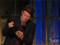 Neil Young Inducts Tom Waits