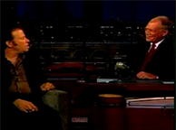 Interview on Letterman